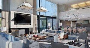 Modern Interpretation Hunting Lodge Tennessee Farmhouse