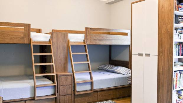 Modern Kids Room Custom Bunk Beds Dwell