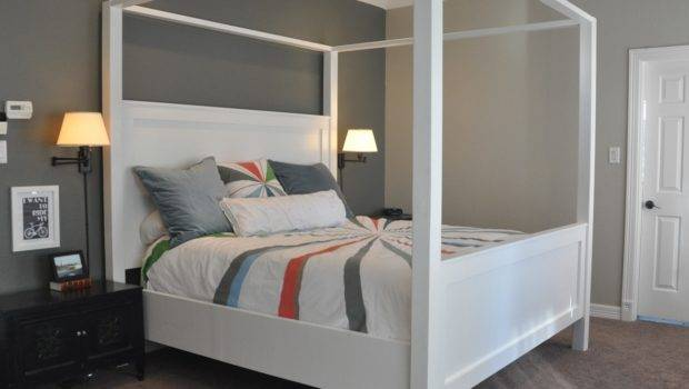 Modern King Farmhouse Bed Canopy Yourself Home Projects