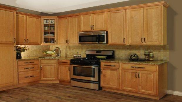 Modern Kitchen Burl Maple Painting Cabinets Color