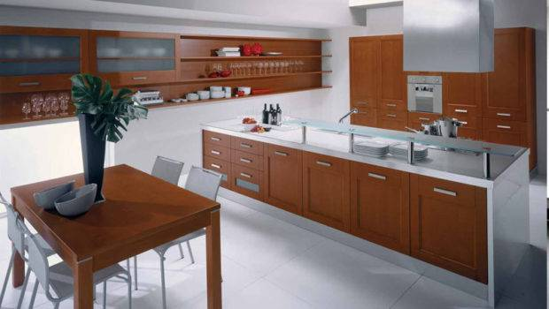 Modern Kitchen Cabinets Including