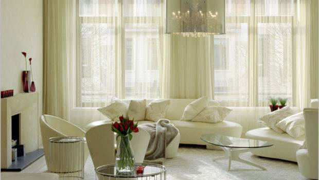 Modern Living Room Curtains Home Interior Design