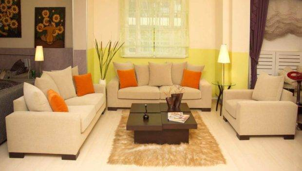 Modern Living Room Ideas Small Spaces Beige Sofa