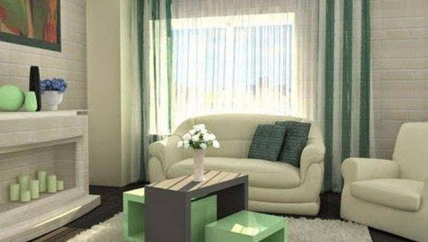 Modern Living Room Ideas Using Nice Abstract Painting