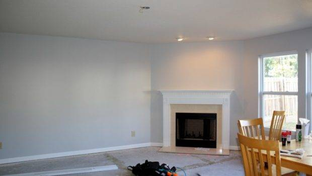 Modern Living Room Light Grey Paint Colours Can Used Create