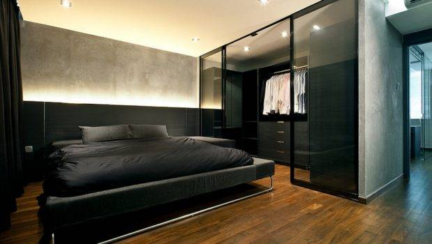 Modern Minimalism Coupled Industrial Style Bedroom Design