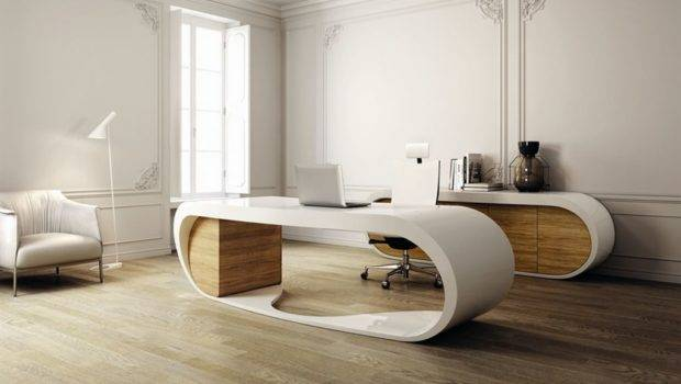Modern Office Desk Design Stylish Looks Home Interior