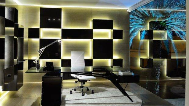 Modern Office Furniture Work Decorating Ideas