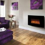 Modern Orlando Wall Mounted Electric Fire Canterbury Fireplaces