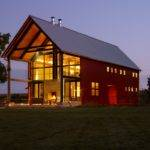 Modern Pole Barn Living Space Designs