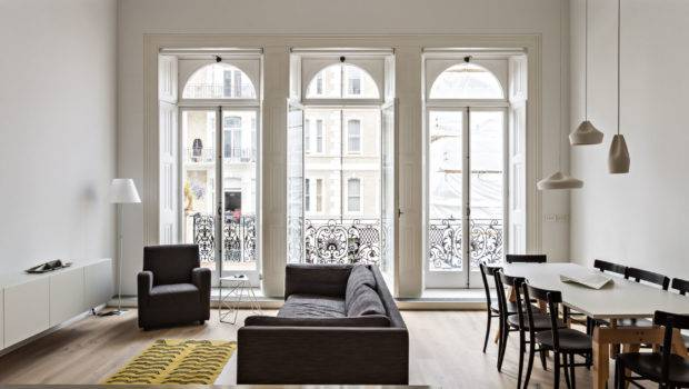 Modern Redesign Victorian Era Apartment London