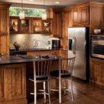 Modern Rustic Kitchen Cabinets Kraftmaid Natural Warmth