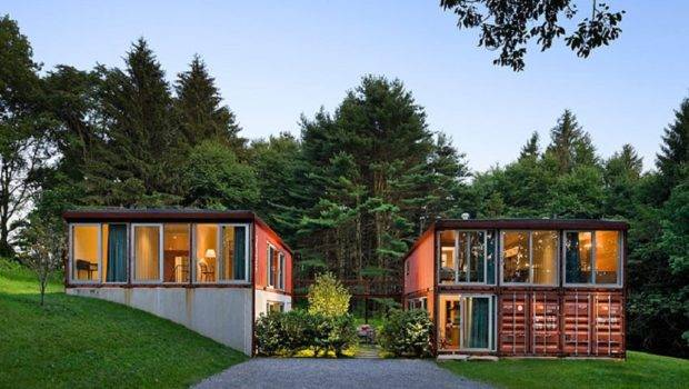 Modern Shipping Container Homes Around World Places