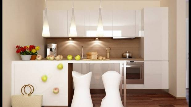 Modern Small Kitchen Appliance Decor