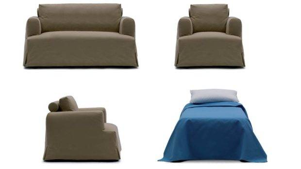 Modern Sofa Beds Space Saving Furniture Pull Out Bed