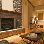 Modern Stone Fireplace Ideas Home Decorating