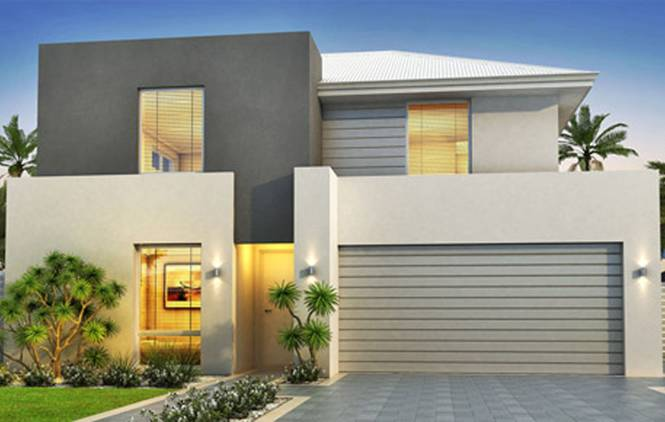 Exterior Modern House Paint | Bedroom and Living Room Image ...