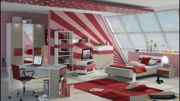 Modern Stylish Teen Room Decor Ideas Pink Girly