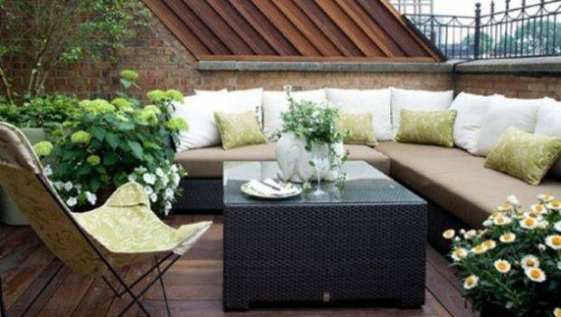 Modern Terrace Outdoor Dining Space Design Ideas Digsdigs