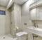 Modern White Bathroom Design Shane Thompson Interior