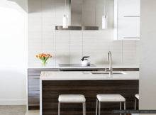 Modern White Glass Subway Backsplash Tile