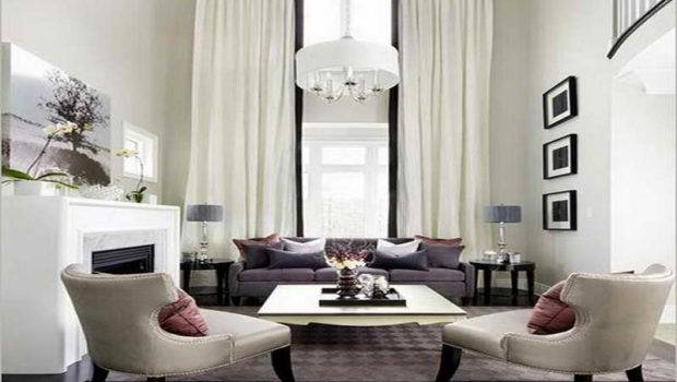 Modern Window Curtains Living Room