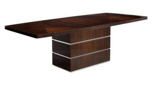 Modern Wood Dining Table Design Contemporary Room
