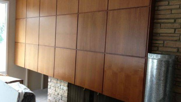 Modern Wood Paneling Walls Interior