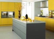 Modern Yellow Kitchen Designs