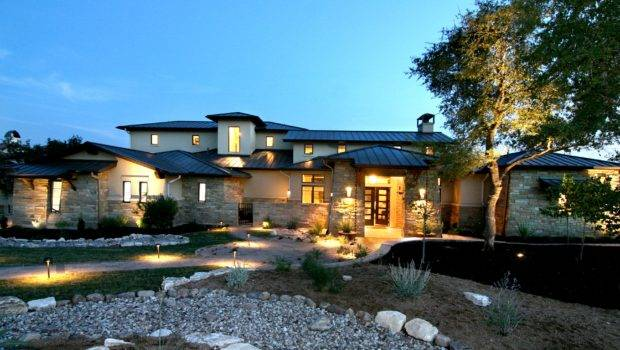 Modern Zbranek Holt Custom Homes Austin Luxury Home