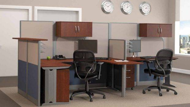 Modular Workstations Office Space Efficiency Ideas