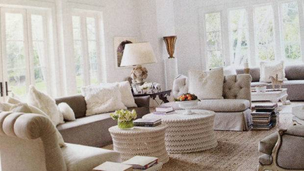 Monochromatic Living Room Pinterest