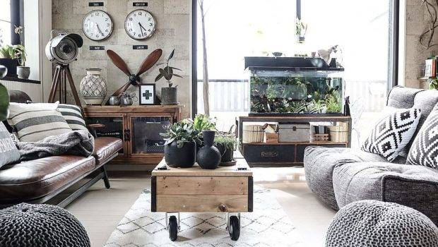 Monochromatic Living Rooms White Personality