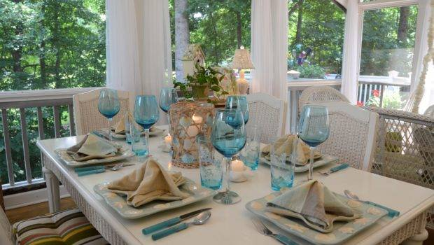 Months Ago Loved Color Summertime Table Setting