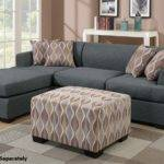 Montreal Grey Fabric Sectional Sofa Steal