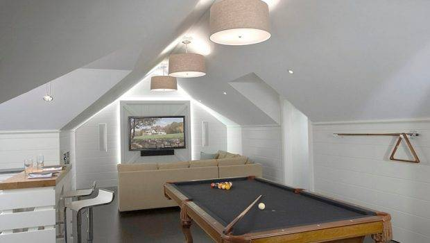 More Inspiration Attic Spaces Offer Additional Living Room