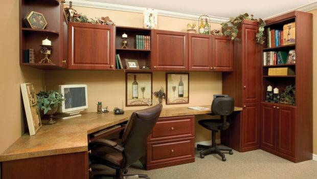More Space Place Custom Home Office Two