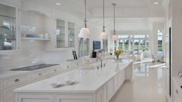 More White Kitchen Pics Like Lacquered Floors Here