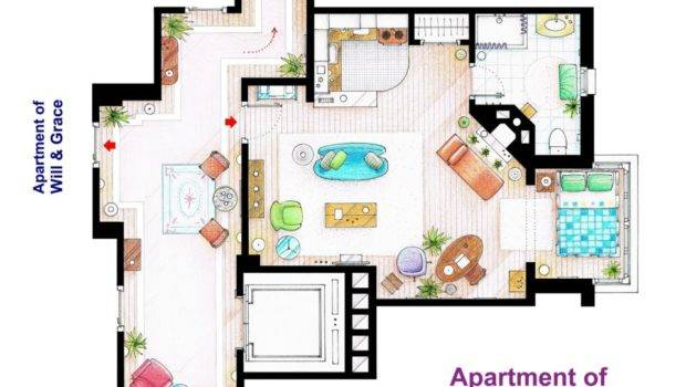 Movie Floorplans Geek Heels