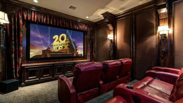 Movie Theater Room One Can Dream Right New Apartment Living