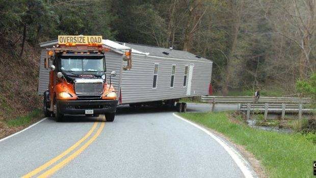 Moving Mobile Home