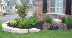 Much Landscaping Front Yard Flower Bed Ideas