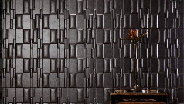 Nappa Tile Peel Stick Wall Faux Leather