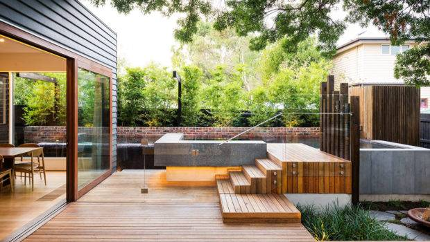 Naroon Modern Backyard Project Signature Landscapes Cos Design