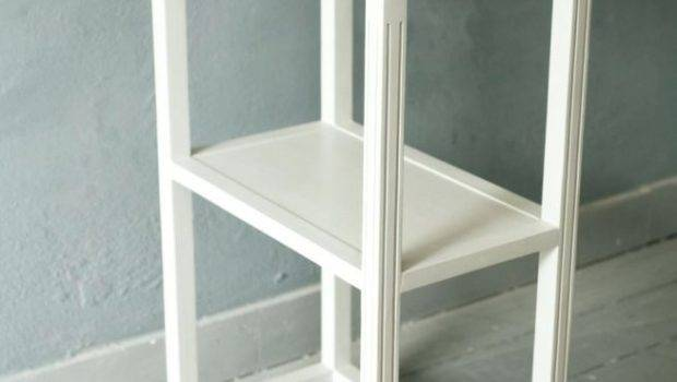 Narrow Bedside Table White Very Small Tables