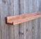 Narrow Floating Ledge Shelf Rusticcreation