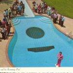 Nashville Guitar Shaped Swimming Pool Lzk