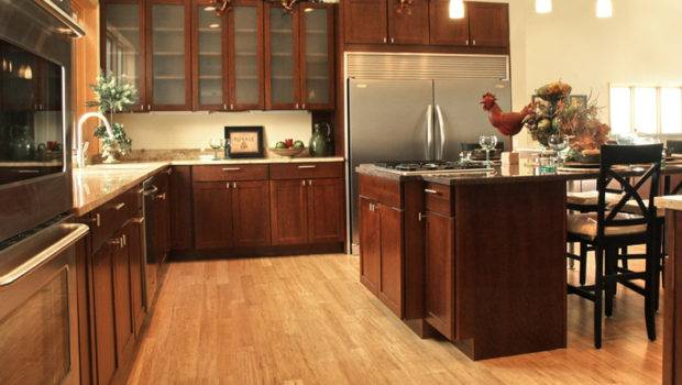 Natural Bamboo Flooring Kitchen Becuo