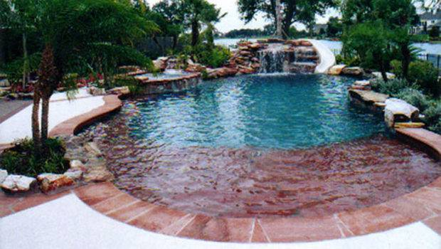 Natural Form Swimming Pools Design Custom Outdoors