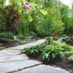 Natural Garden Pathway Perennial Bergen County